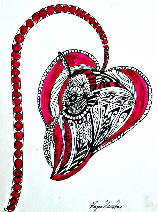 Heart of Hungary - Hajna V. Csorba, Artist.