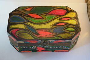 Finished Wood Box