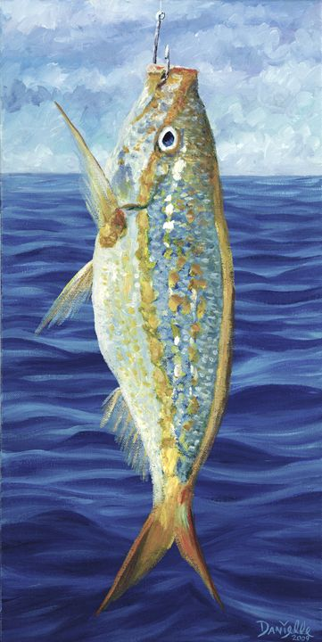 Yellowtail on the Menu - Danielle Perry Fine Art
