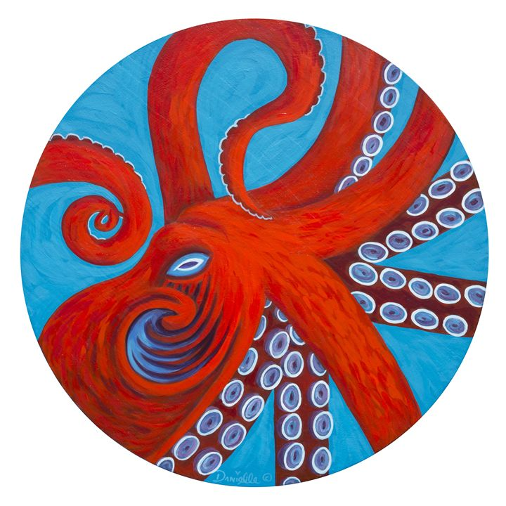 Octo - Danielle Perry Fine Art