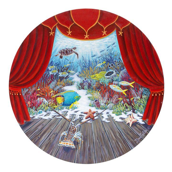 Theater of the Sea - Danielle Perry Fine Art