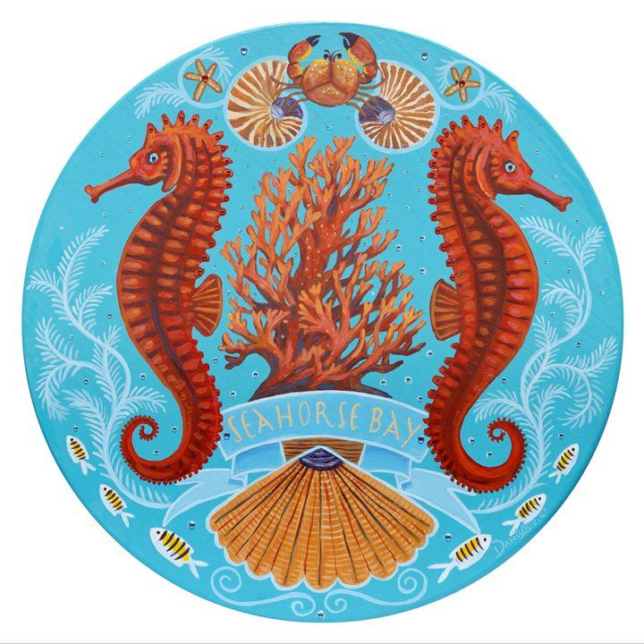Seahorse Bay - Danielle Perry Fine Art