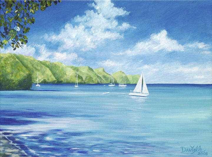 Friendship Bay - Danielle Perry Fine Art