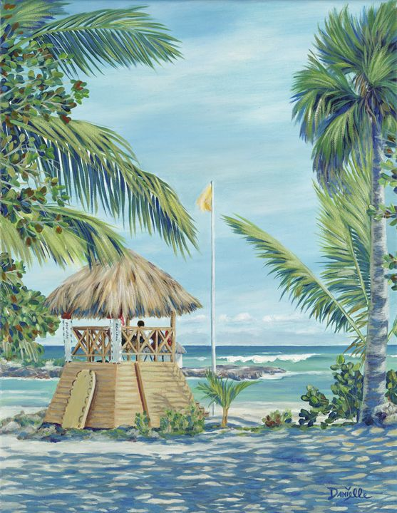 Cap Cana Lifeguard - Danielle Perry Fine Art