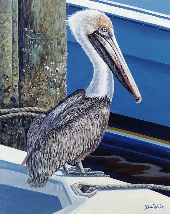 Pelican Blues - Danielle Perry Fine Art