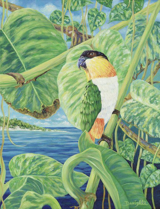 Kiwi's Jungle - Danielle Perry Fine Art