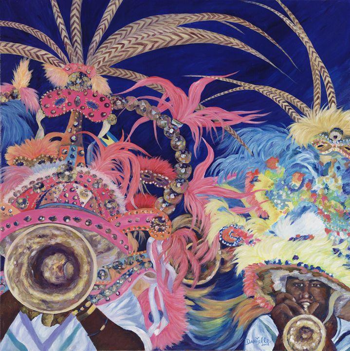 Junkanoo - Danielle Perry Fine Art