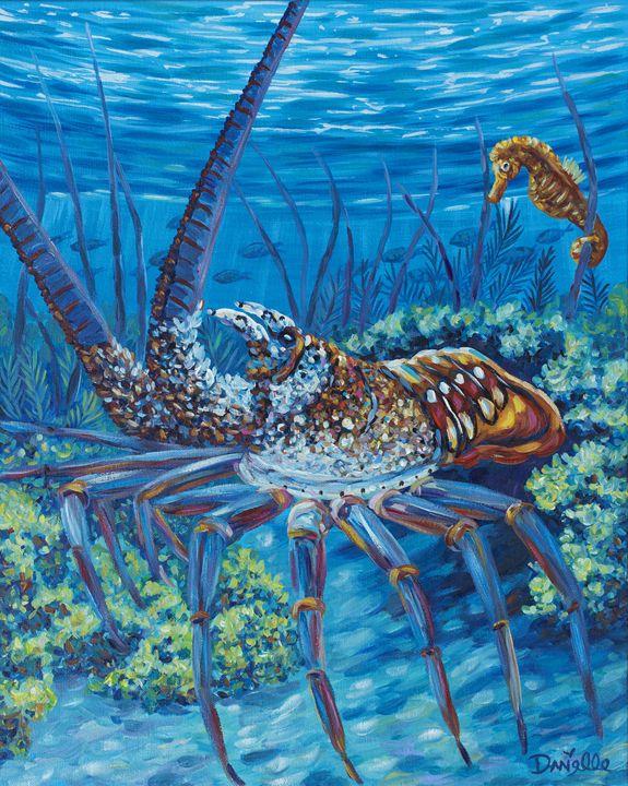 Lobster Season - Danielle Perry Fine Art