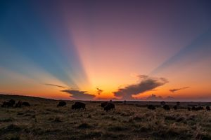 Kansas Flint Hills Sunset