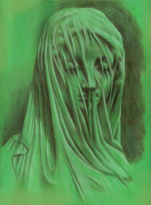 Veiled Virgin - Adrien Gomet