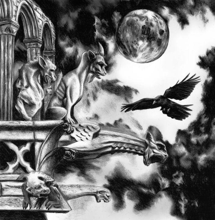 A gothic night - Adrien Gomet