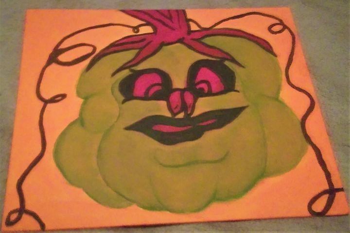 Moma Pumpkin Stooge - Art By Kristi V