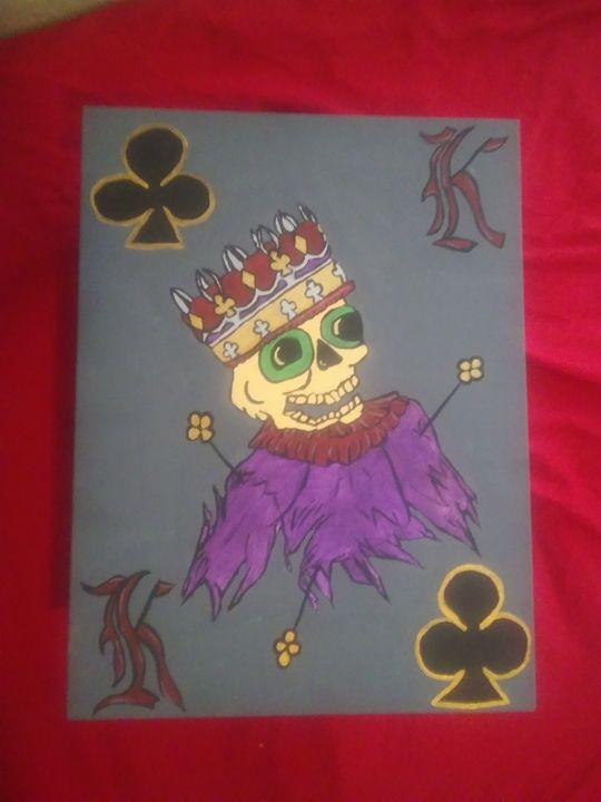 Gothic Club King - Art By Kristi V