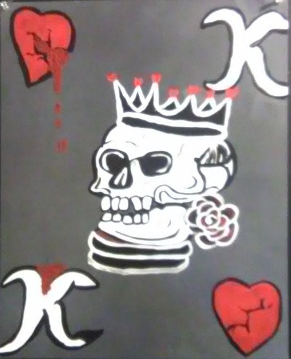 King of Hearts - Art By Kristi V