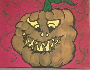 Stumpy the 1st Pumpkin Stooge