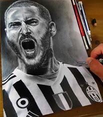 Juventus Players portraits - Juventus Players Portraits