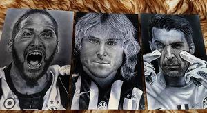 Juventus Players portraits
