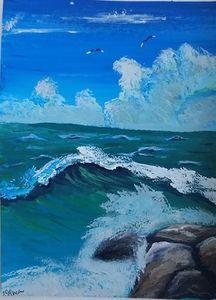 Sea Breeze/ Original Art