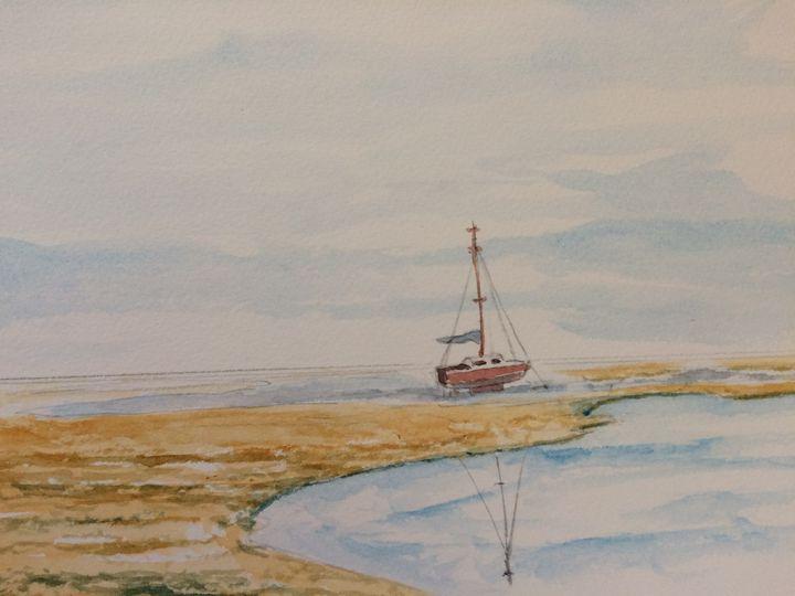 Sunny Coast Fishing Boat - FarraSpace