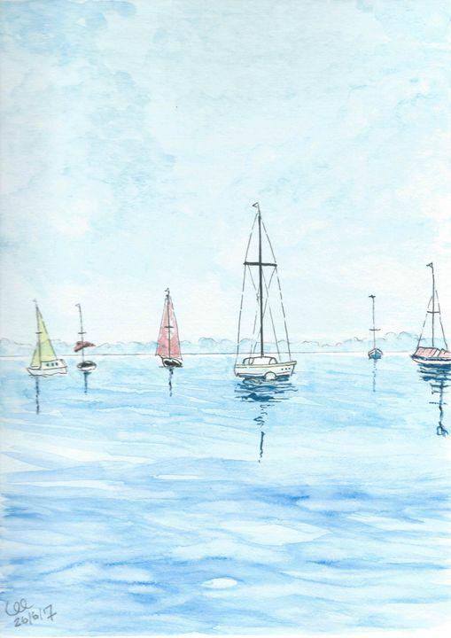 Yachts around the Harbor - FarraSpace