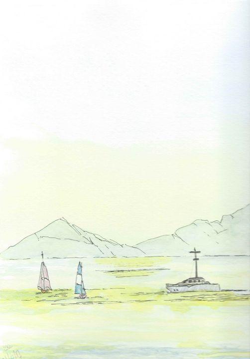 Calm and sunny lake - FarraSpace
