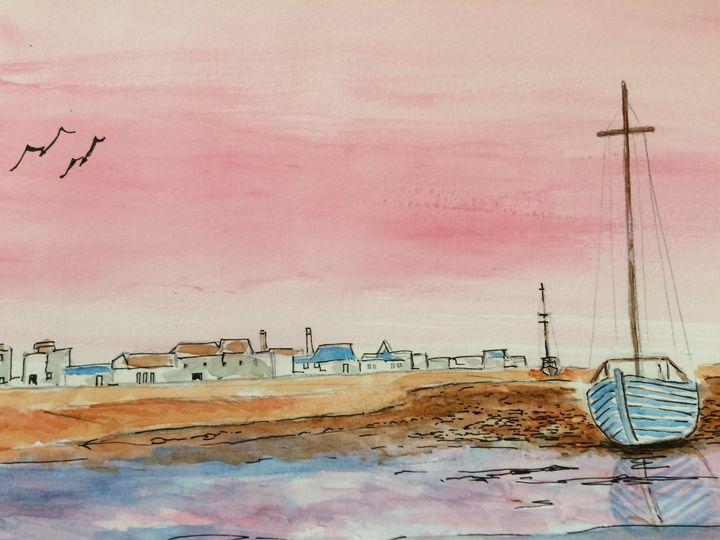 Old English coastal morning - FarraSpace
