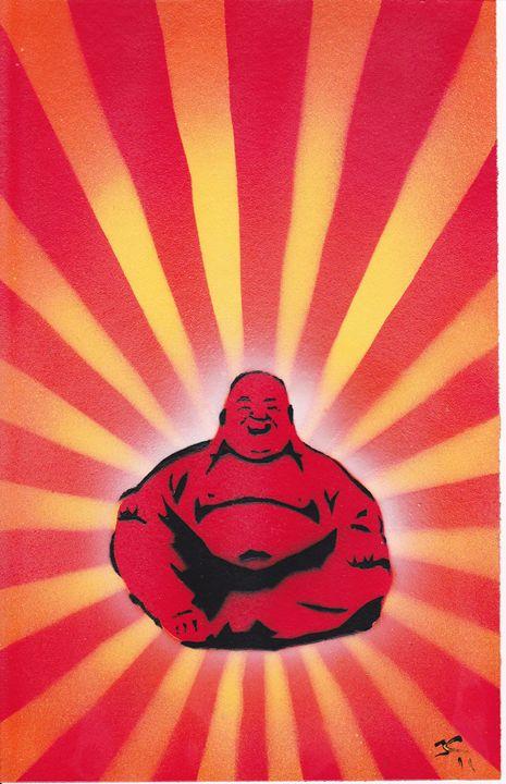Red Buddha - Jushe's Creations