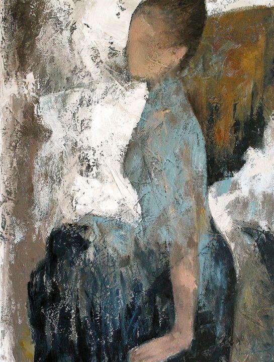 Blue Skirt - Naoko Paluszak