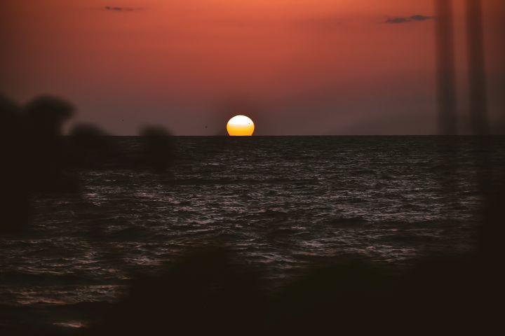 purple sunset - Lauren R. Gay