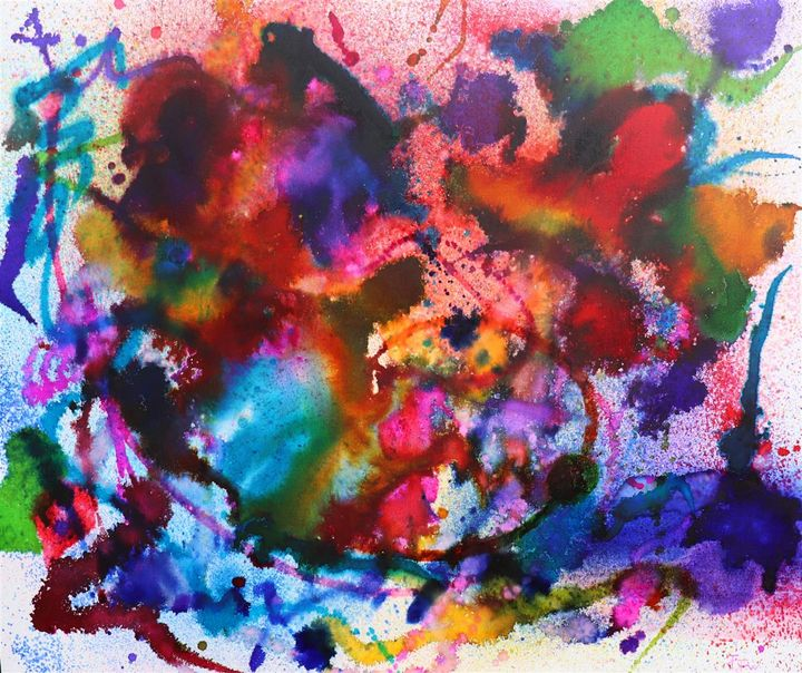 Boom Boom Pow - $3,340 - JOSEPH J WALKER ART