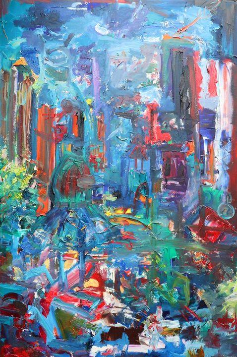 Welcome to the jungle - JOSEPH J WALKER ART