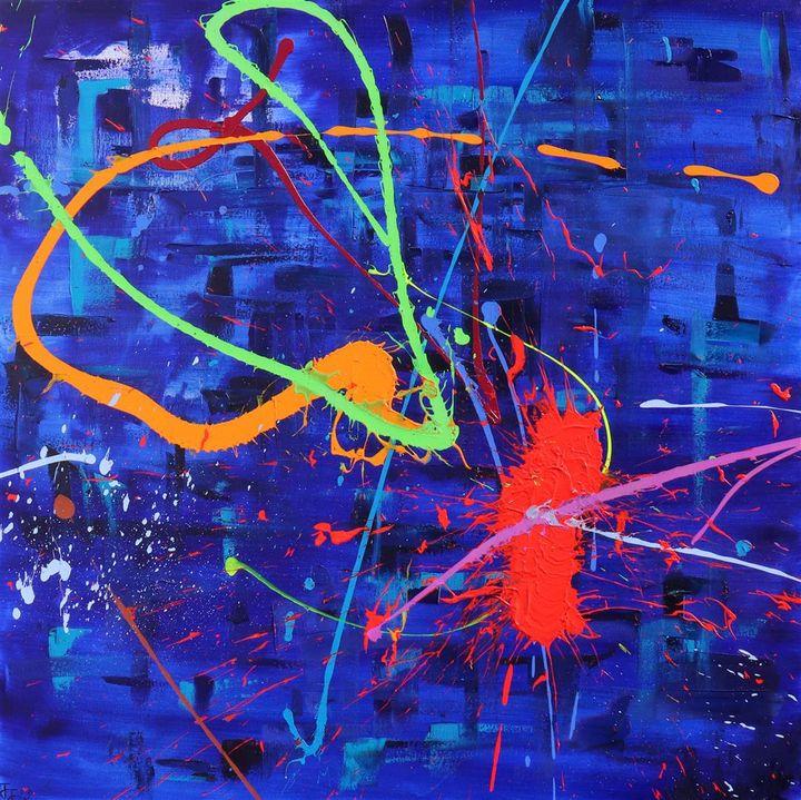 Blue Monday - JOSEPH J WALKER ART