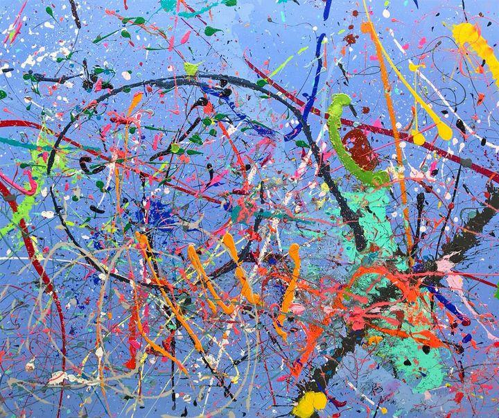 Big Blue - JOSEPH J WALKER ART