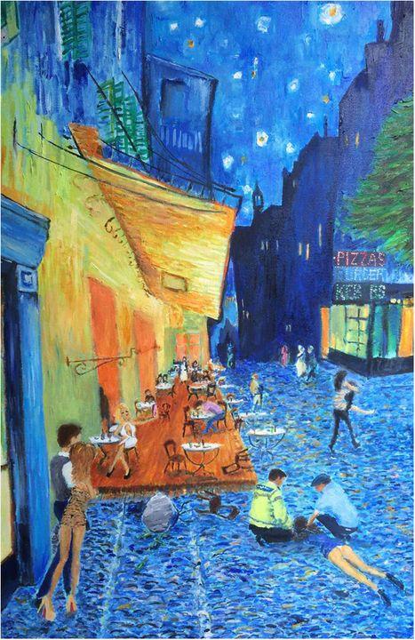 'Binge Drinkers' - JOSEPH J WALKER ART