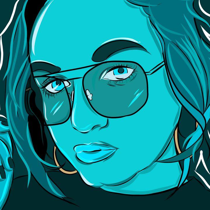 Blue - Portraits