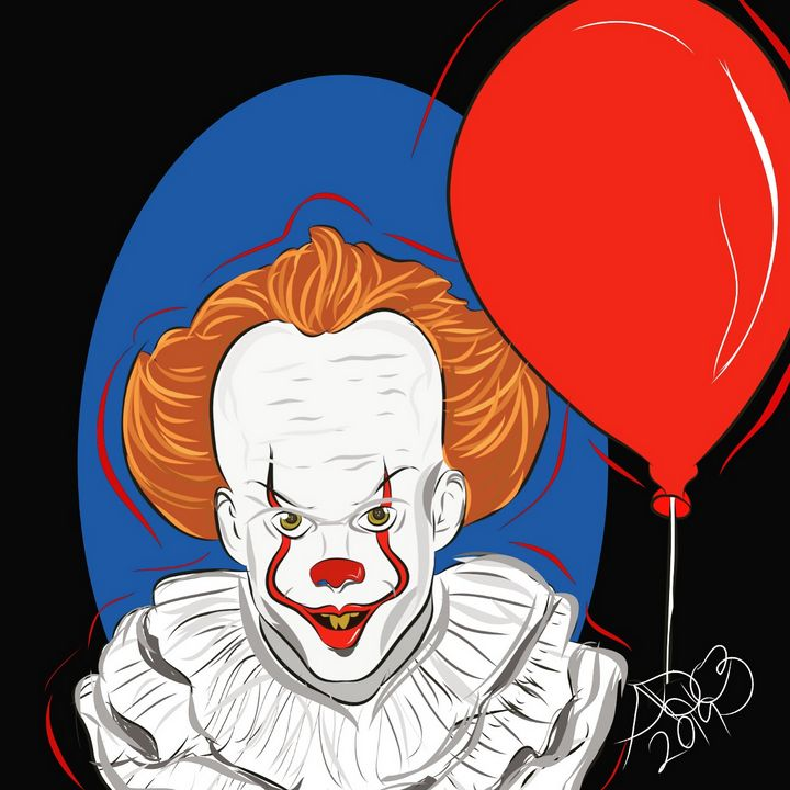 Pennywise - You'll float too - Portraits
