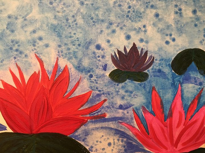 Water lily - Creative mind