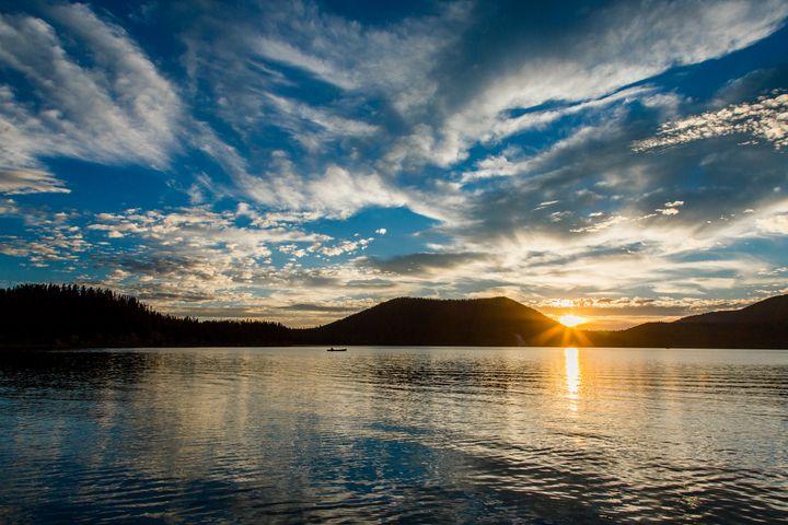 East Lake Oregon Sunset - Studio 623 Photography