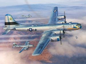 B-29s Over Korea
