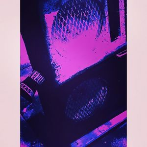 Guitar Bass Subwoofer System Purple