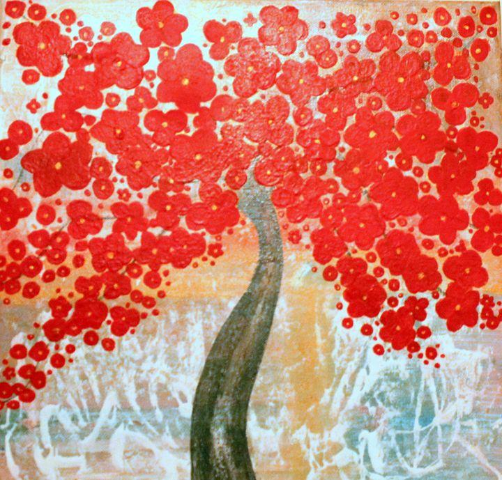Red blossom - Florina Davi