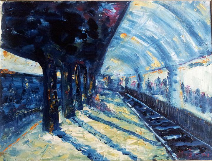 Rail station - Majana Besic