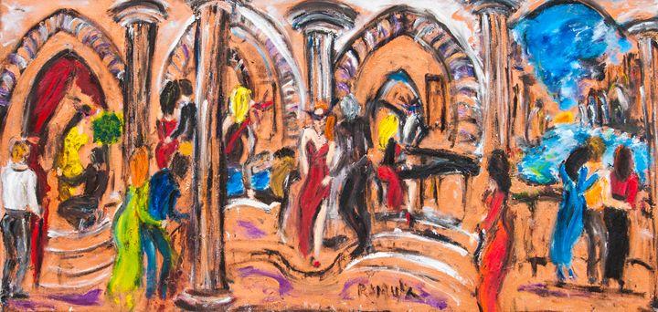 """Masquerade"" - Romula Art Gallery"