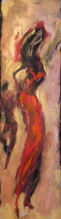 """Red"" - Romula Art Gallery"