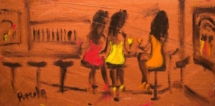 """""""The Bar"""" - Romula Art Gallery"""