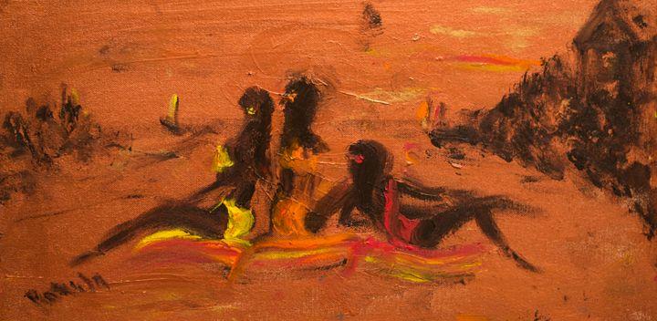 """""""The Beach"""" - Romula Art Gallery"""