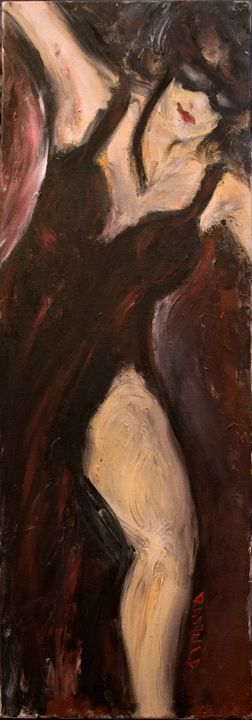 """Dancer in Black"" - Romula Art Gallery"