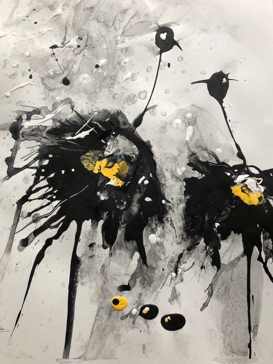 Birds of a feather - Chetna's Art