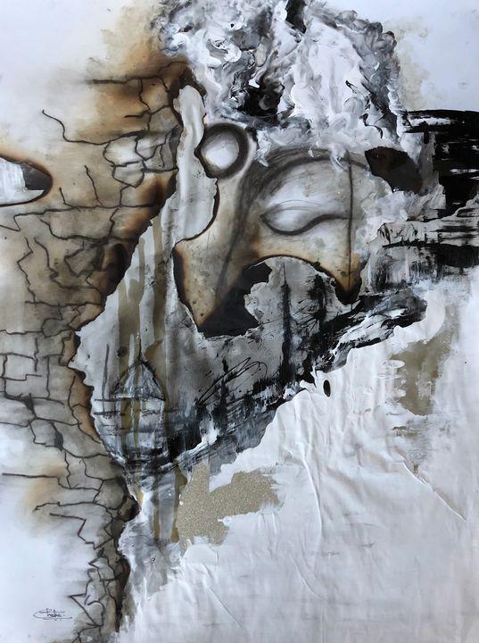 Smokey Buddha - Chetna's Art