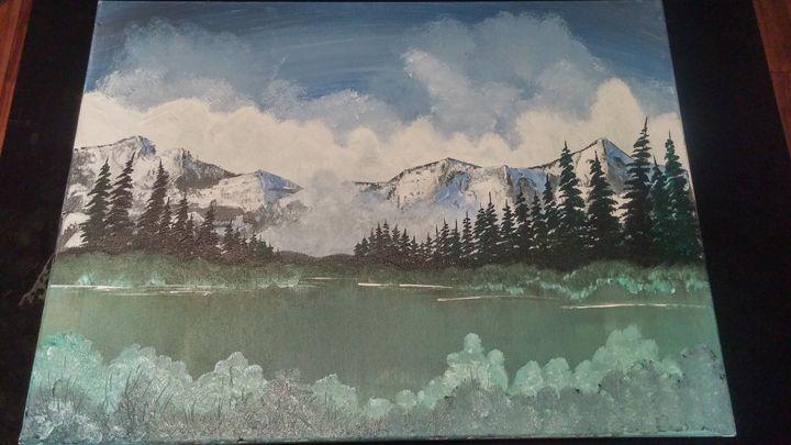 Fog Mountain - Nathans Art